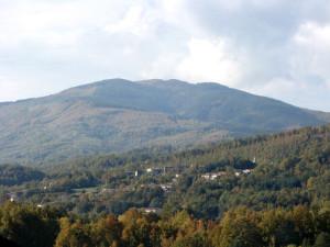 Monte Reventino visto da Soveria Mannelli.