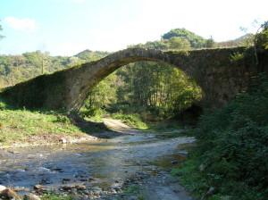 Uno dei ponti romani sul fiume Savuto. Detto anche il Ponte del Diavolo e Ponte di Annibale.