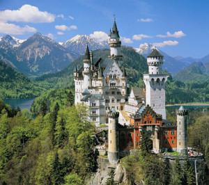 Lo splendido castello voluto da Ludovico II di Baviera