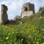 Particolare del Castello di Amantea.