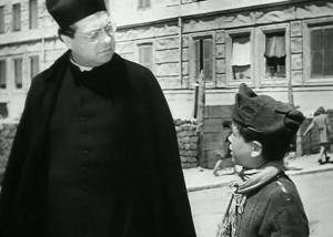 """Aldo Fabrizi in """"Roma Città Aperta"""""""