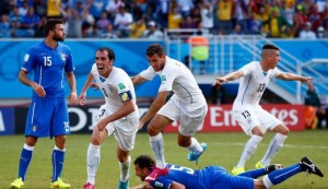 Italia Uruguay 0-1 Mondiale 2014