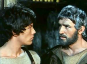 Ulisse e Telemaco nello sceneggiato Rai di Franco Rossi