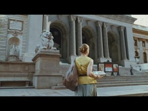 Sex and The City - Il Film - Carrie Bradshaw davanti alla New York Public Library