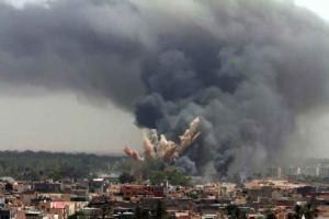 LIBIA: RAID NATO CONTRO SEDE TV TRIPOLI, 3 MORTI