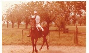 Martino, altro cavallo che mi fu dato in affidamento alla Pollarola