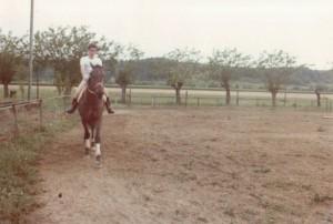 Bimbo l'altro cavallo, il mio secondo grande amore, che tenni alla Pollalrola (Capriata D'Orba)