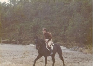 Sambor l'ultima volta che lo montai ad Arenzano, quando dovetti darlo ad una ragazza