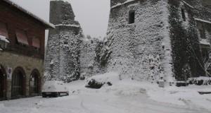 E' arrivata la prima neve in Liguria