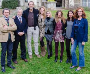 Da sinistra: ilenio Celoria (fotografo), Giancarlo Pinto (Direttore), Giovanni Gastel (Fotografo), Simona Lupi (Insegnante), Martina Massarente (Insegnante), Claudia Oliva (Fotografa), Valeria Piazzi (Insegnante), Fernanda Bareggi (Fotografa).