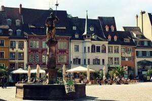 Mulhouse Piazza della Riunificazione