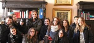 Alcuni studenti partecipanti al progetto