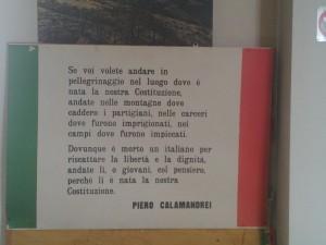 Le parole di Piero Calamandrei