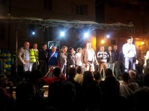 Alessandro Di Battista sul palco a Novi Ligure