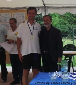 Paolo Porta vincitore assoluto (con Rocchino Muliere)