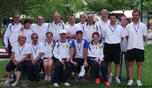 Foto di gruppo della squadra novese.