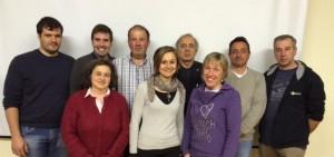"""La squadra di """"Proviamo a cambiare"""" con Giorgio Leonicni (quarto da sinistra)"""