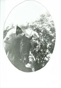 Il nostro direttore GB ai tempi in cui cavalcava i cavalli e...era più umano!!!
