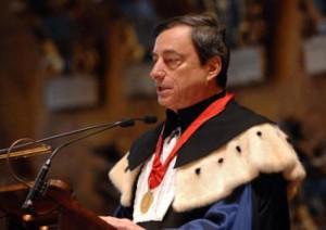 Mario Draghi magniloquenza Bocconi