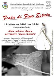 Comune Mele - VOLANTINO SPOSA 201409