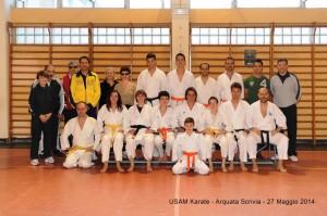 USAM Karate 2013-2014