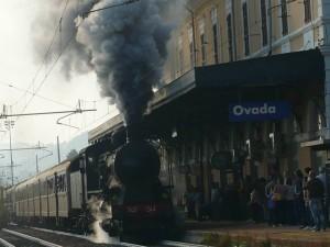 Il treno arriva ad Ovada