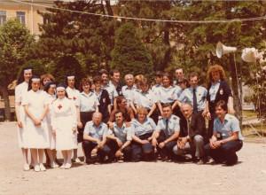 Crocerossine e volontari CRi alla StraNovi