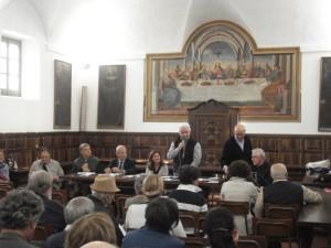 Il coordinatore diocesano del Cursillo Carlo De Benedetti