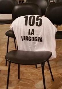 """""""A Busalla la vergogna fa 105"""""""