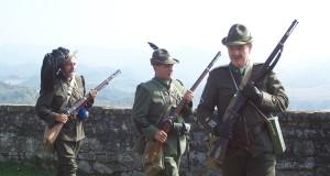 Forte di Gavi – domenica 26 aprile – i soldati della Grande Guerra