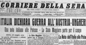"""CENT'ANNI FA LE """"RADIOSE GIORNATE DI MAGGIO"""": UN ABBOZZO DI RICOSTRUZIONE STORICA"""