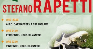 """15° memorial """"Stefano RAPETTI"""" a Silvano d'Orba"""