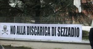 SABATO 26 SETTEMBRE: IN PIAZZA A SEZZADIO CONTRO LE DISCARICHE DEL TERZO VALICO