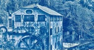 La cartiera in blu, la cianotipia al Museo della Carta di Mele