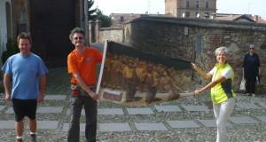 """ll CAI Ovadese al """"Sentiero del sole"""".Monleale 27 Settembre 2015"""