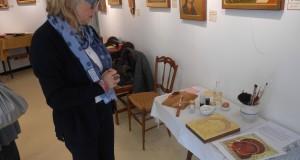 Luciana Repetto, l'artista delle icone