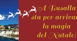 """Il terzo """"Natale Insieme"""" a Busalla"""