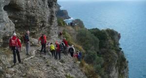 CAI OVADA.Escursione 10 Gennaio Monte di Portofino