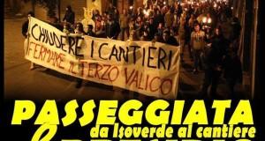 Il Movimento Val Verde No-Tav manifesta ad Isoverde
