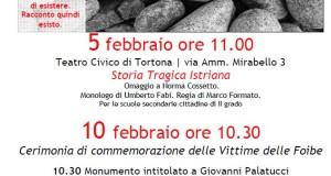 Giorno del Ricordo 2016 a Tortona
