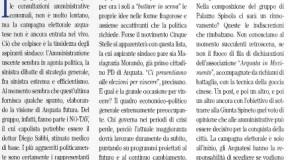 """ARQUATA SCRIVIA: La smentita del M5S in merito all' """"apparentamento"""" con Maria Grazia Morando"""