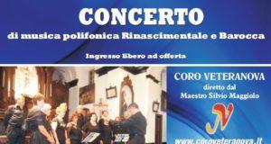 Concerto del Coro VeteraNova – Voltaggio – Oratorio di S. Antonio Abate