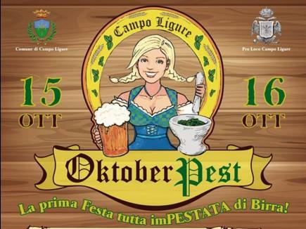 OktoberPest: birra e pesto in scena a Campo Ligure