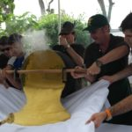 Polentata di solidarietà a Montebruno