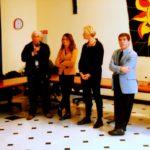 Serra Riccò, la visita del Ministro Roberta Pinotti