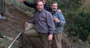 Cinque volontari si sono uniti per recuperare il parco del Righi-Peralto