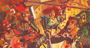 Il centro storico di Genova diventa un fumetto horror