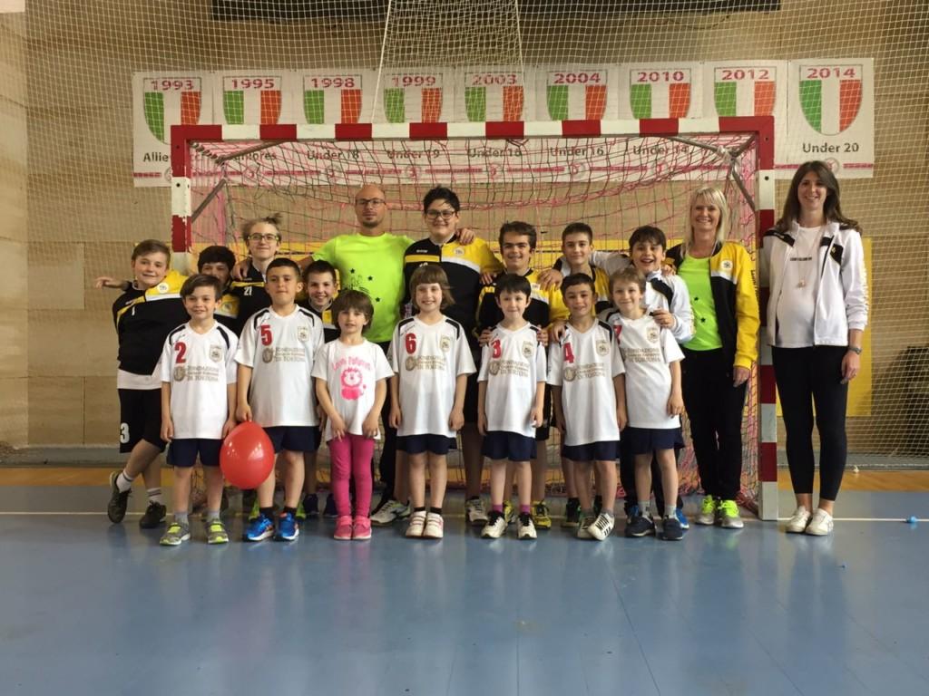 La Leoni Pallamano Tortona 2013, unica squadra piemontese a partecipare al torneo di Franciacorta