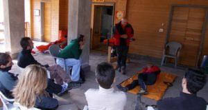 Antola, il quinto corso di rianimazione e primo soccorso in montagna