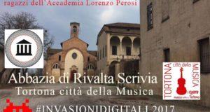 Musica a Rivalta Scrivia con le Invasioni Digitali 2017 e Tortona città della Musica